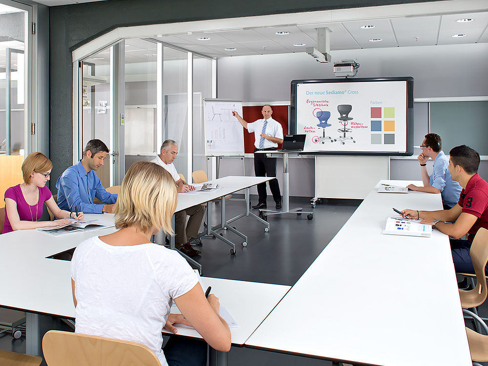 Image: QUWIS® training room