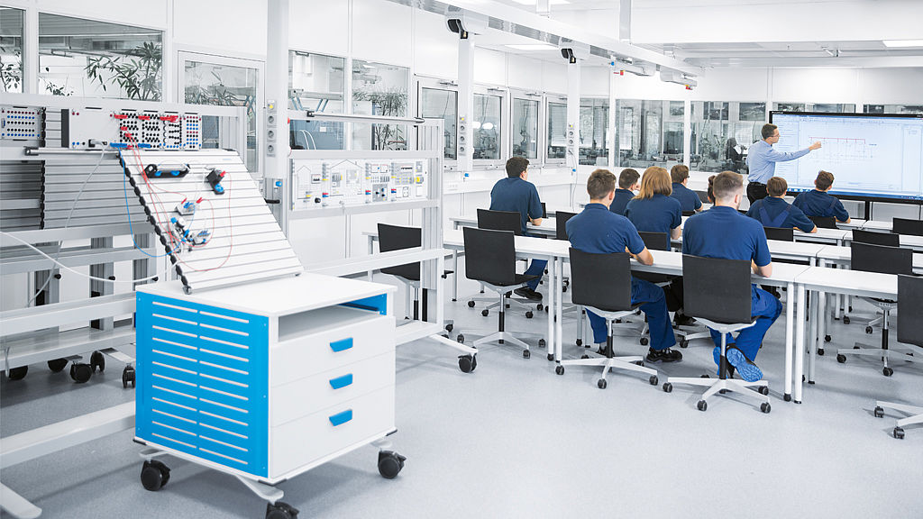Image: Multispaces for further education, Daimler AG