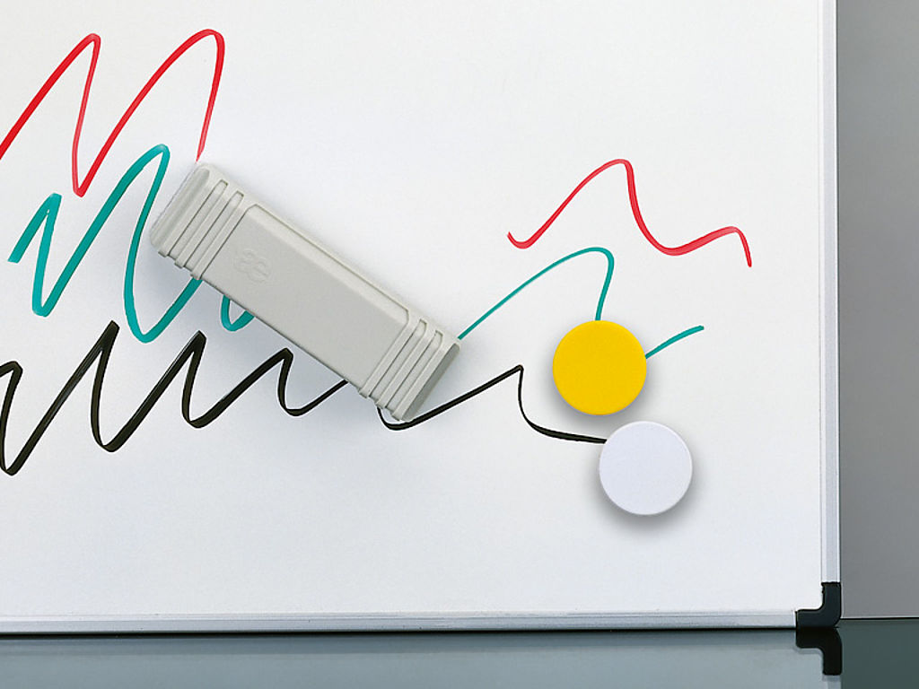 Image: White board steel enamel