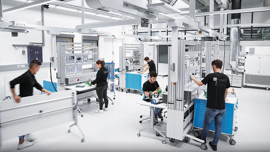 Image: Multispace, Friedrich-Ebert-School