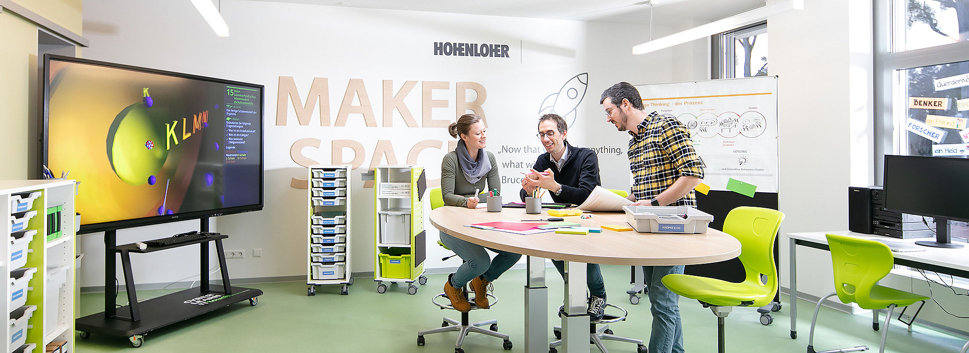 Image: Design Thinking at Makerspace