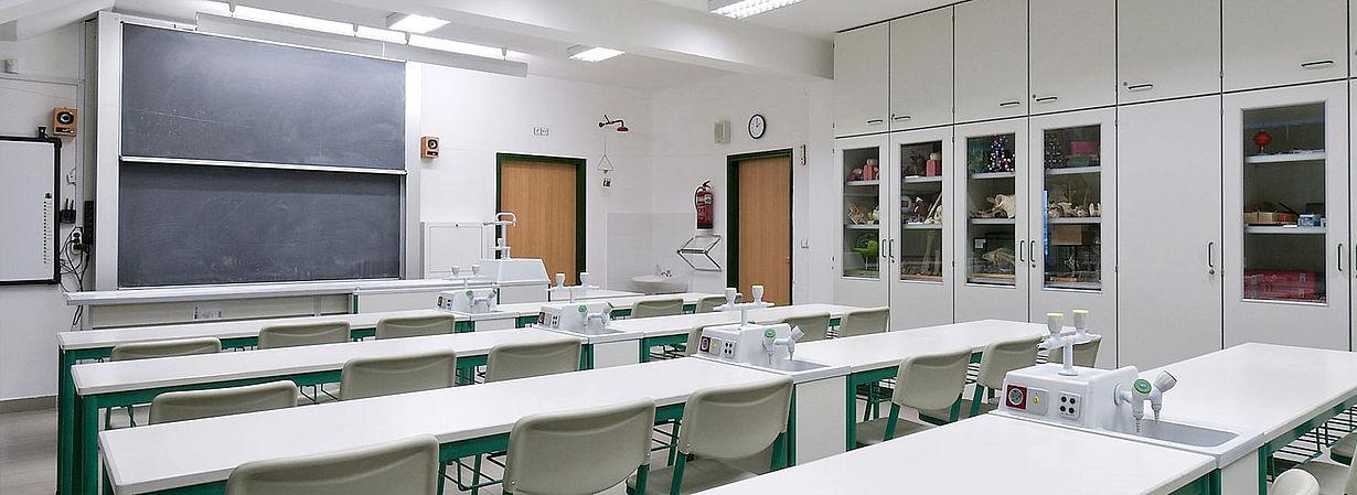 Image: classroom Kulosaaren Bálint Márton