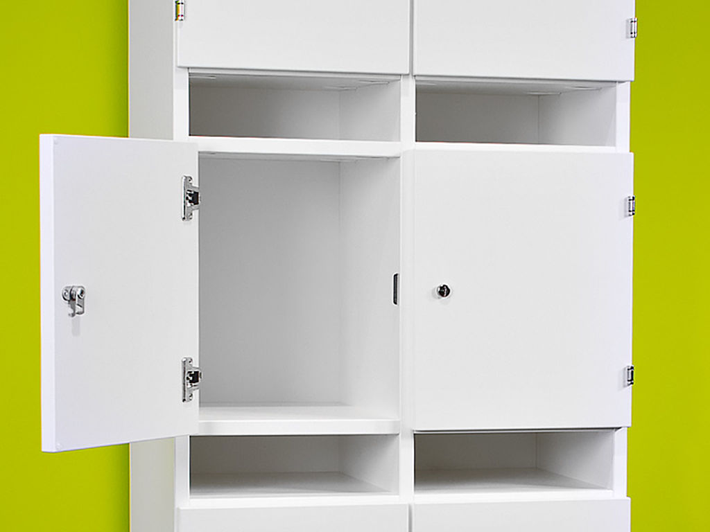 Image: Powdercoated cabinet