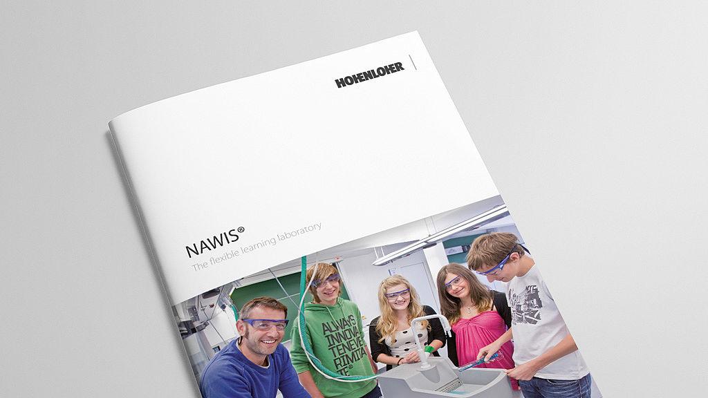 Image: Learning laboratory NAWI® bruchure