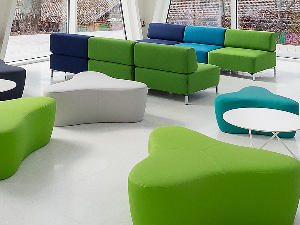 Image: Seating furniture fabric surface