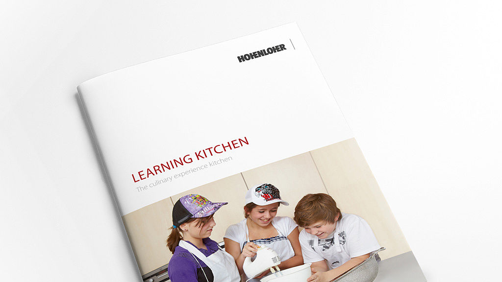 Image: Learning kitchen brochure