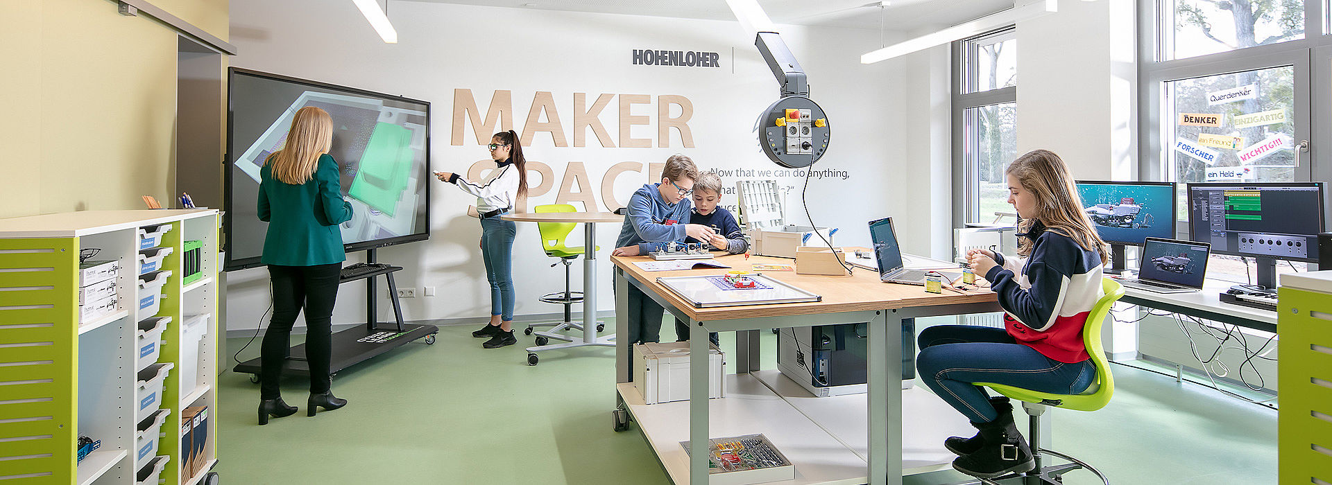 Image: Concentration and Exploration at Makerspace