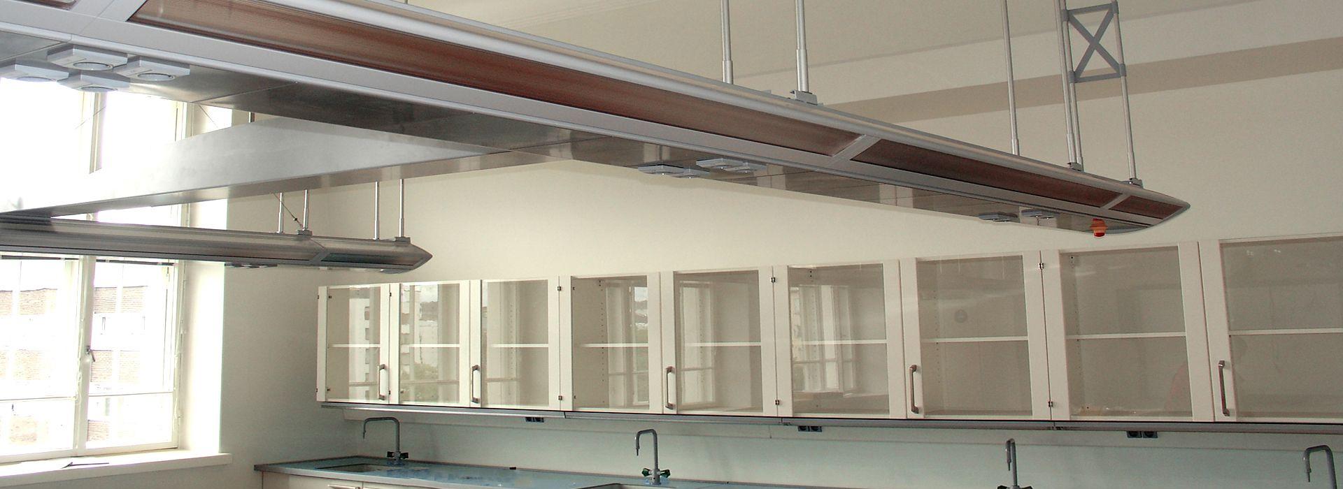 Science lab with ceiling supply, KERTTULIN LUKIO, TURKU