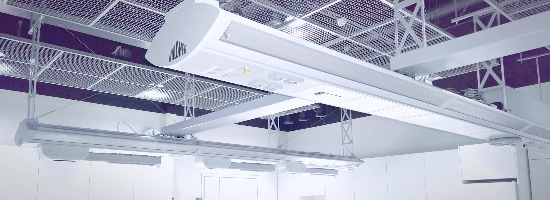 Image: Heureka science lab ceiling supply
